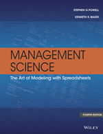 Management Science, Fourth Edition